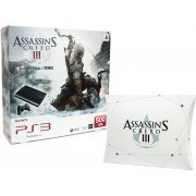 PlayStation3 New Slim Console - Assassin's Creed III Bundle Pack (500GB Charcoal Black Model) - 220V (Asia)