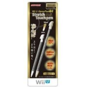 Stretch Touch Pen for Wii U Gamepad (Black) (Japan)