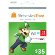 Nintendo eShop Card 35 USD | USA Account (US)