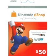 Nintendo Prepaid Card (US$50 / for US network only) (US)