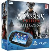 PS Vita PlayStation Vita - Assassin's Creed III: Liberation Wi-Fi Model (Black) (Europe)