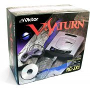 Sega Saturn Console - Victor V-Saturn RG-JX1 [Square Box] preowned (Japan)