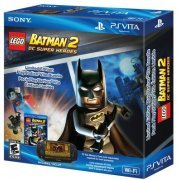 PS Vita PlayStation Vita - Wi-Fi Model (LEGO Batman 2: DC Super Heroes Bundle) (US)