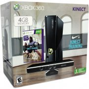 Xbox 360 (4GB) Bundle incl. Nike+ Kinect Training (US)