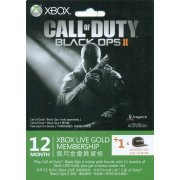 Xbox Live 12-Month +1 Gold Membership Card (Call of Duty: Black Ops II Edition) (Asia)