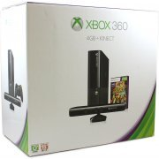 Xbox 360 Arcade Slim Console (4GB) Kinect Bundle incl. Kinect Adventures (Asia)