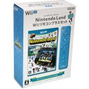 Nintendo Land Wii Remote Control Plus Set (Blue) (Japan)