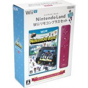 Nintendo Land Wii Remote Control Plus Set (Pink) (Japan)