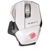 Mad Catz Cyborg R.A.T.M Wireless Gaming Mouse (Gloss White)