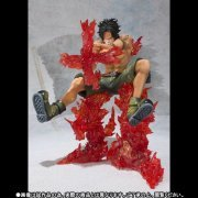 Figuarts Zero One Piece Non Scale Pre-Painted PVC Figure: Portgas D. Ace Battle Ver. Cross Fire (Japan)