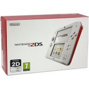 Nintendo 2DS (Red/White) (Europe)