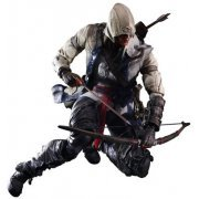 Assassin's Creed III Play Arts Kai Non Scale Pre-Painted Action Figure: Kai Connor (Japan)