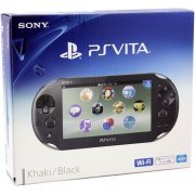 PS Vita PlayStation Vita New Slim Model - PCH-2000 (Khaki Black) (Japan)