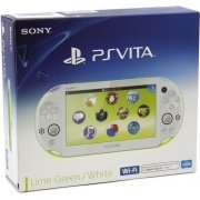 PS Vita PlayStation Vita New Slim Model - PCH-2006 (Lime Green White) (Asia)