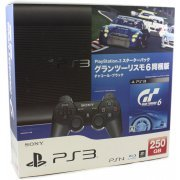 PlayStation3 New Slim Console - Starter Pack with Gran Turismo 6 (Charcoal Black) (Japan)