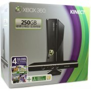 Xbox 360 250GB Kinect Bundle (Kinect Sports & Kinect Adventures Games) (Asia)