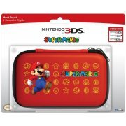 3DS Hard Pouch 3DS (Super Mario Version 2 - Red) (US)