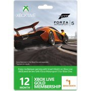 Xbox LIVE 12 +1 Bonus Month Live Gold Membership (Forza Motorsport 5 Edition) (Europe)