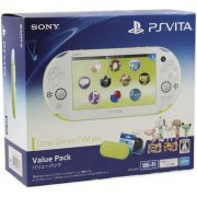 PlayStation Vita New Slim Model Value Pack (Lime Green White) (Japan)