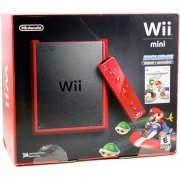 Nintendo Wii Mini with Mario Kart Bundle (Red) (US)