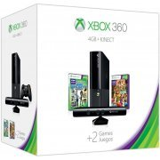 Xbox 360 4GB Kinect Holiday Bundle (Kinect Sports: Season Two & Kinect Adventures Games) (US)