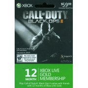 Xbox Live 12-Months Card (Call of Duty: Black Ops II Edition) (US)