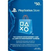 PlayStation Network Card (CAD$ 50 / for Canada network only) (Canada)
