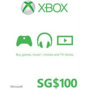 Xbox Gift Card (SGD 100) (Singapore)