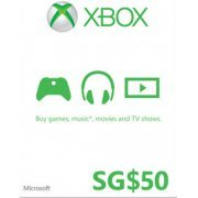 Xbox Gift Card (SGD 50) (Singapore)