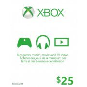 Xbox Live Value Card (CAD 25) (Canada)