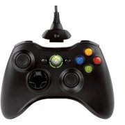 Xbox 360 Wireless Controller Play & Charge Kit (Liquid Black) (Japan)