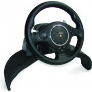 Lamborghini Super Sport Steering Racing Wheel 'EVO' (Black)