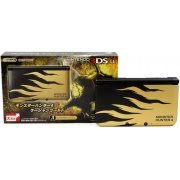 Nintendo 3DS LL Monster Hunter 4 Edition (Rajang Gold) (Japan)