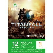 Xbox 360 Live 12-Month +1 Gold Membership Card (Titanfall Edition) (Japan)