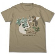 Space Dandy Append T-shirt Sand Khaki L: Aloha Oe (Re-run) (Japan)