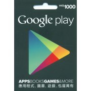 Google Play Card (HKD$ 1000 / for Hong Kong accounts only) (Hong Kong)