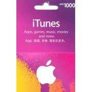 iTunes Card (HKD$ 1000 / for Hong Kong accounts only) (Hong Kong)