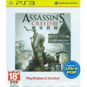 Assassin's Creed III (Playstation 3 the Best) (Ultra Pop) (Chinese) (Asia)