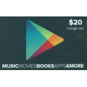Google Play Card (US$20 / for US accounts only) (US)
