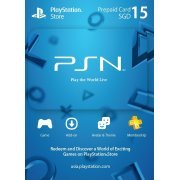 PlayStation Network 15 SGD PSN CARD SG (Singapore)