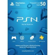 Playstation Network Card 50 SGD | Singapore Account (Singapore)