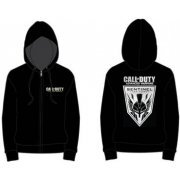 Activision Call of Duty: Advanced Warfare Soldier Zipper Hoodie - Men (Black) (XXL)