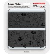 New Nintendo 3DS Cover Plates No.005 (Emboss) (Japan)