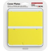 New Nintendo 3DS Cover Plates No.009 (Yellow) (Japan)