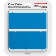 New Nintendo 3DS Cover Plates No.010 (Blue) (Japan)