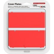 New Nintendo 3DS Cover Plates No.011 (Red) (Japan)