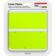 New Nintendo 3DS Cover Plates No.034 (Yellow Green) (Japan)
