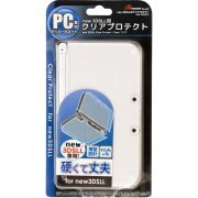 Clear Protector for New 3DS LL (Clear) (Japan)