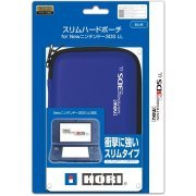 Slim Hard Pouch for New 3DS LL (Blue) (Japan)