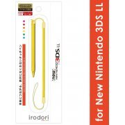 Touch Pen Leash for New 3DS LL (Yellow) (Japan)